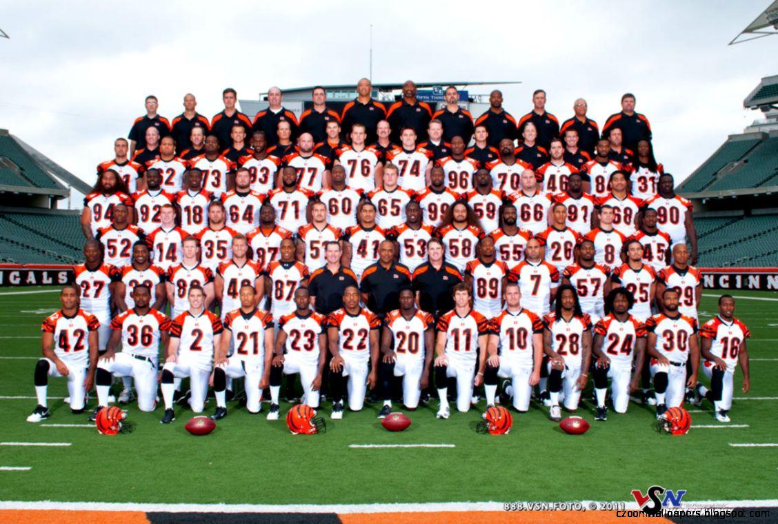2011 Cincinnati Bengals Team Photo