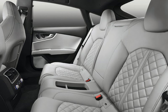 2013 Audi S7 Sportback Back sit Interior