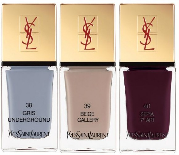 YSL Electric Chic nail polishes