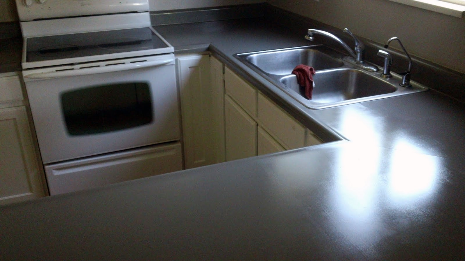 Countertop Paint Colors : Rustoleum?s countertop paint comes in 16 colors. We went with ...