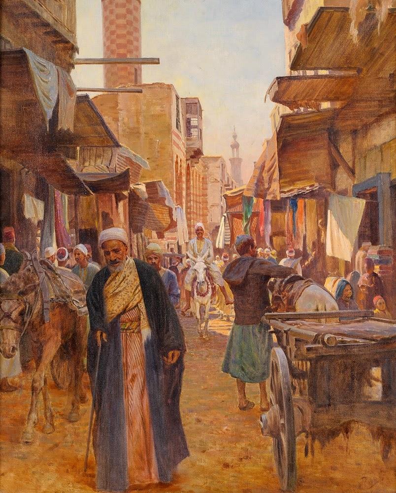 viaje árabe orgía