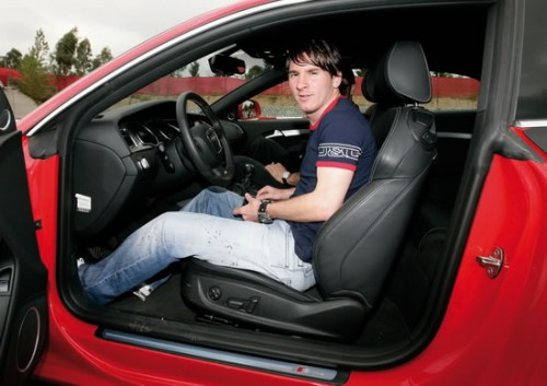 What is messi car collection
