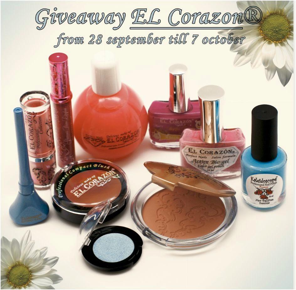 Giveaway от компании El Corazon