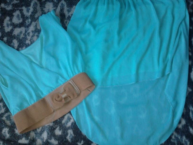 DIY - przeróbka + mint outfit