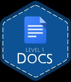 Google Docs Level 1