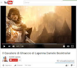 Guarda il booktrailer del Cavaliere di Ghiaccio da YouTube