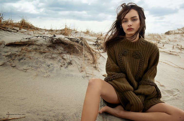 Luma Grothe photgraphed by Blaise Reuterswärd styled by Columbine Smille for Style By magazine