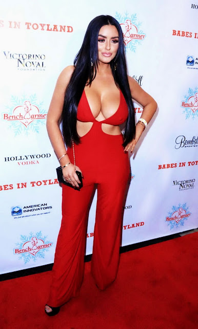 Abigail Ratchford – Babes in Toyland Charity Holiday Party