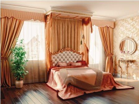 Aprende a decorar septiembre 2012 for Cortinas plateadas salon