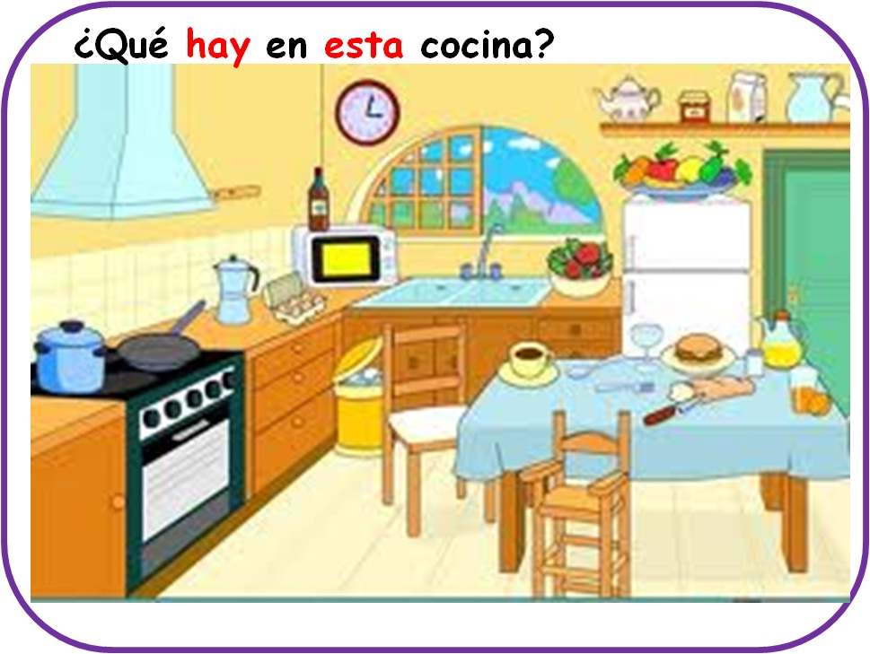 Te cuento un cuento partes de la casa - La cocina en casa ...