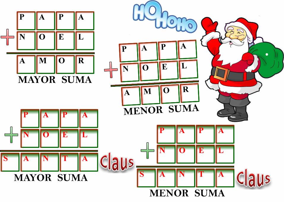 Hermosa Navidad Con Temas De Las Hojas De Trabajo De Matemáticas ...