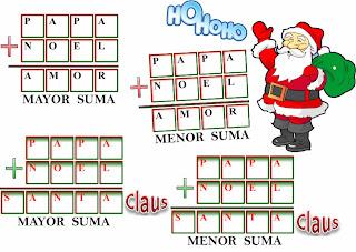Criptoaritmética, Criptosumas, Criptogramas, Alfamética, Alfamético, Matemática y Navidad