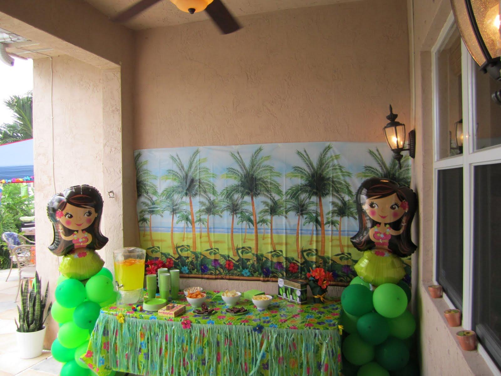 Dicas de como decorar uma festa havaiana Como decorar sua festa # Decoração Havaiana Simples