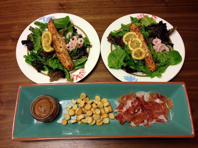 香草焗三文魚