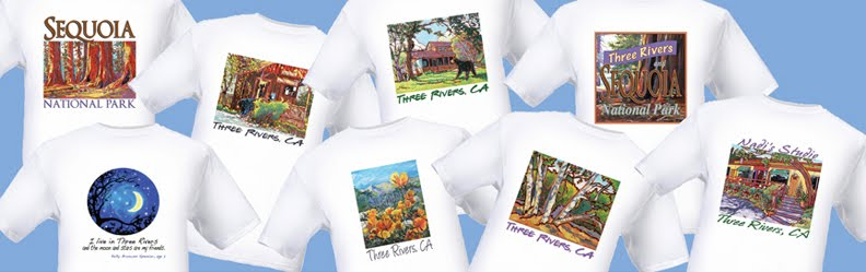 Three Rivers T-shirts