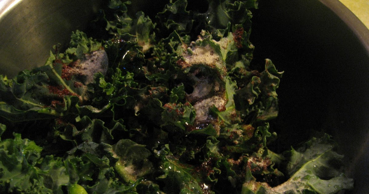 RECIPE: Baked Kale Chips | The Way...