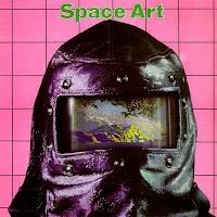 La portada de Jean-Auguste Ringard, nombre artístico de Gilles Lacombe para el segundo álbum del dúo Space Art, Trip In The Center Head