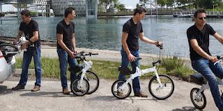 Flex Electric Folding bike, electric bike, folding bike