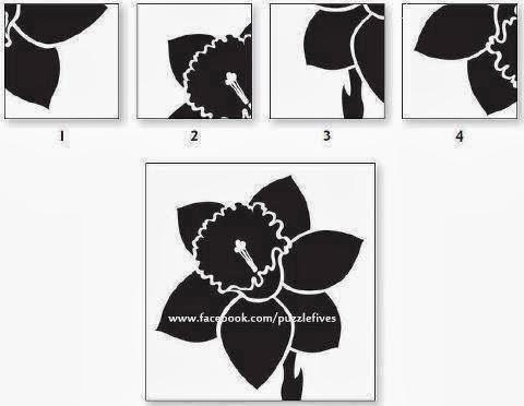 صورة صور الغاز اسئلة ذكاء اذكياء صعبة ما هو الجزء الناقص ليكمل الوردة