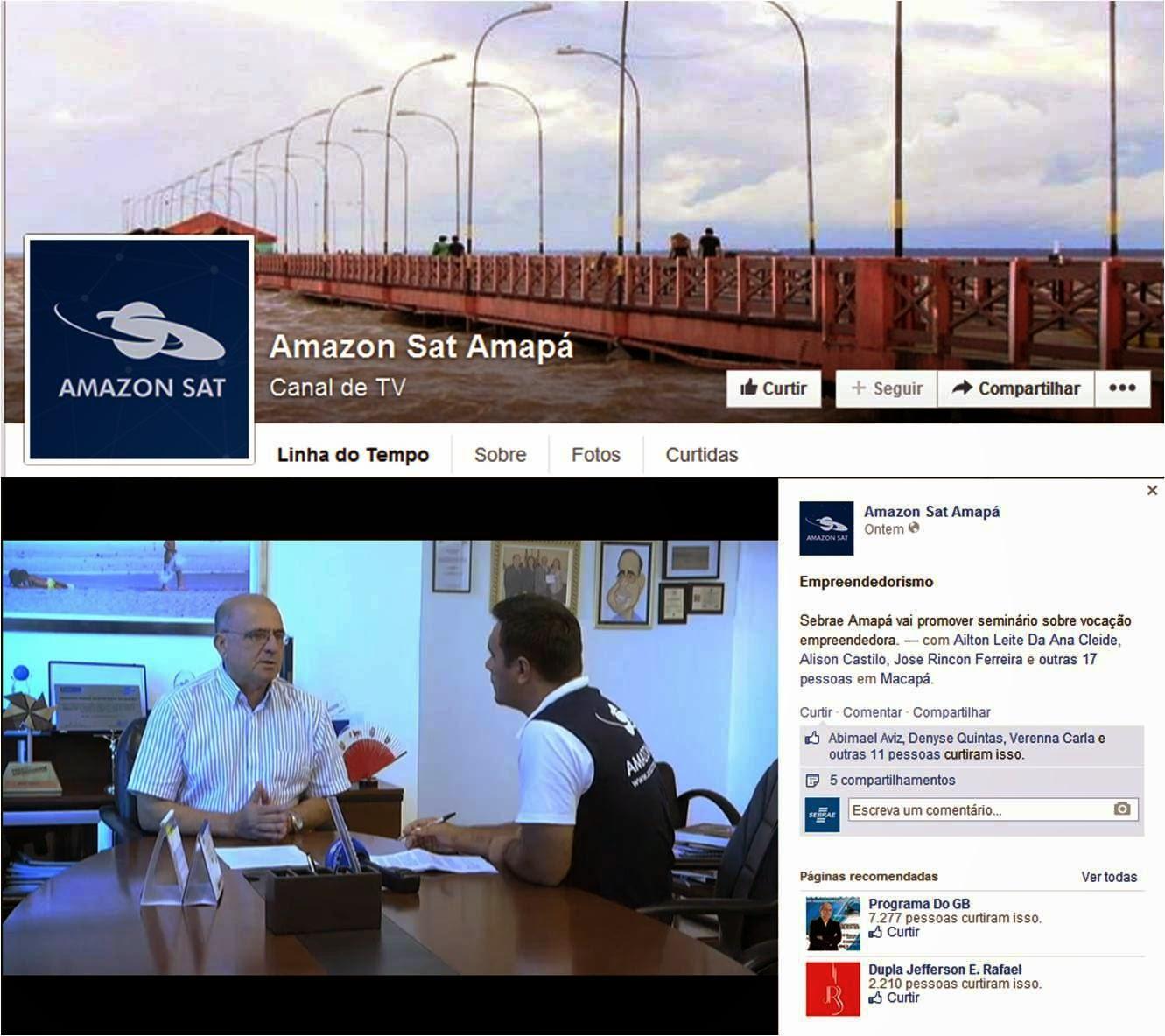 Diretor-Superintendente do Sebrae Amapá, João Carlos Alvarenga