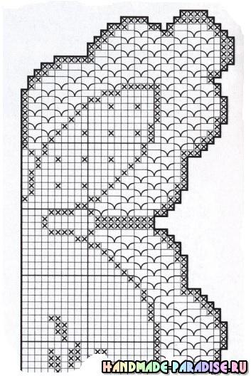 Схемы вязания крючком. Салфетки и скатерти
