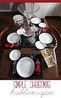 Continue the Holiday Spirit Simple Christmas Tablescape