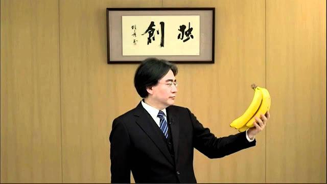 Satoru Iwata Bananas