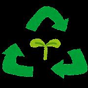 リサイクルのマークのイラスト