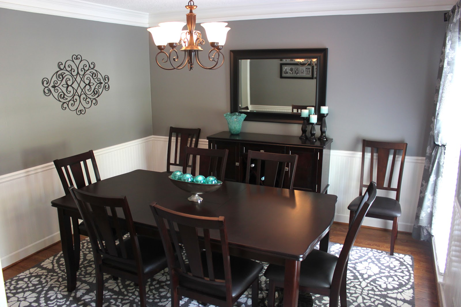 The Smitten Mintons Dining Room Makeover