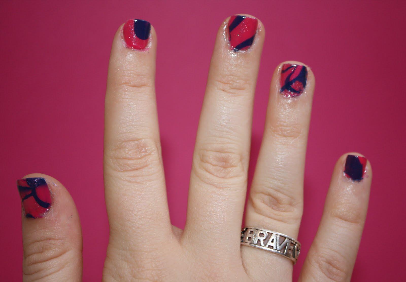 marble nail art-90