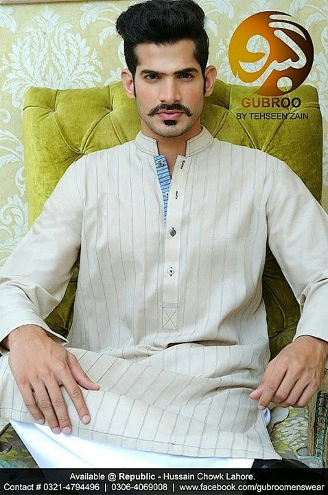 Gubroo Men's Wear Collection 2014