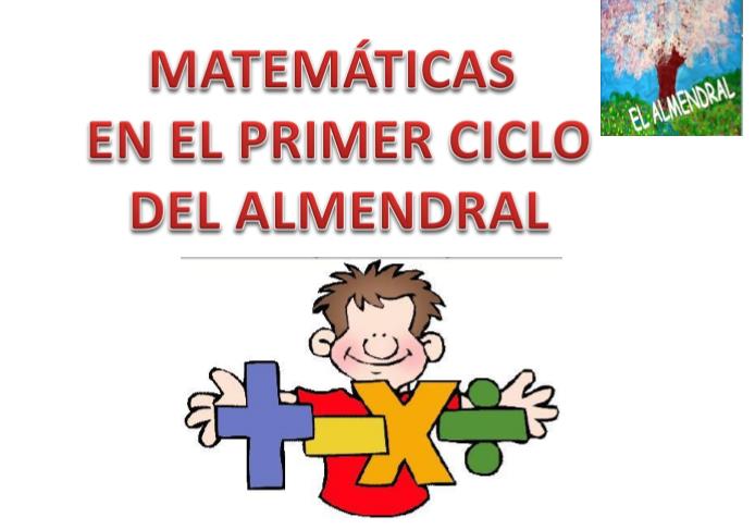 PROPUESTA DE PROBLEMAS EL ALMENDRAL PARA PRIMER CICLO DE PRIMARIA