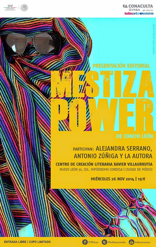 """Presentación del libro electrónico """"Mestiza Power"""" de Conchi León en el @CCLXV"""