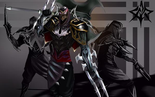 zed the master of shadow champion league of legends