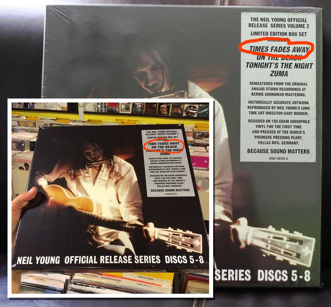 Neil Young Official Release Series Discs 5-8