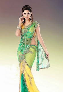 Beautiful Bridal Net Sarees