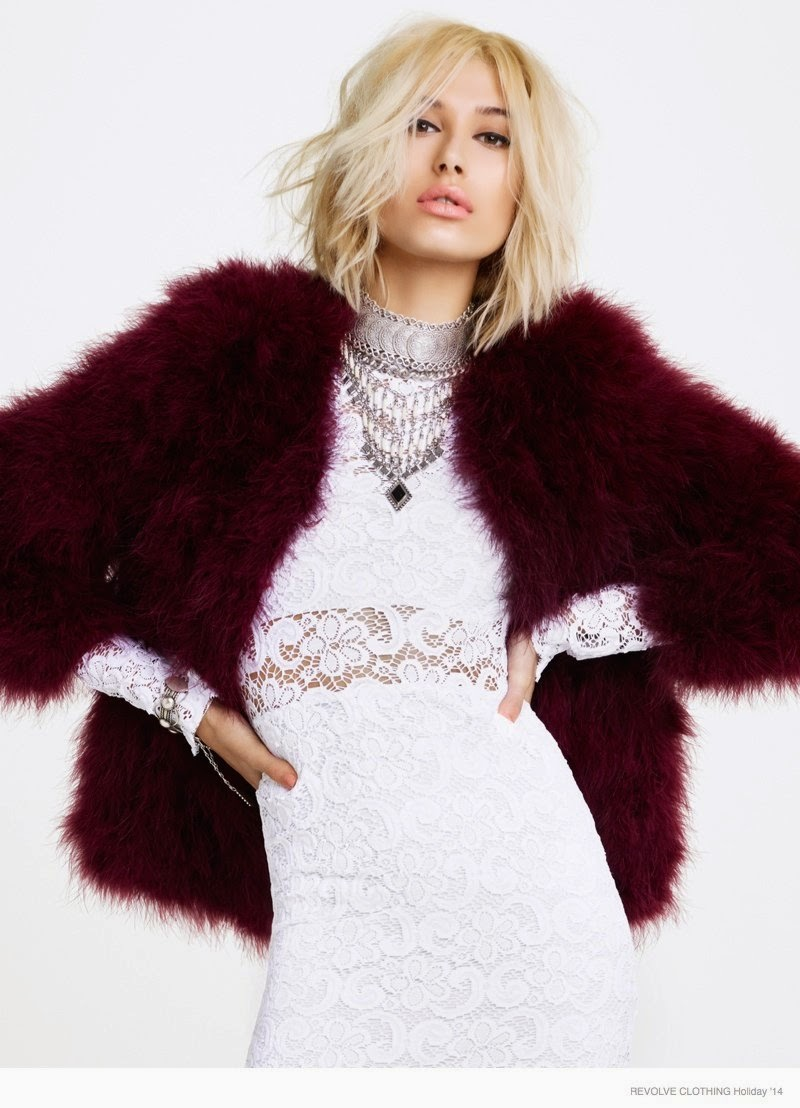 Revolve Clothing Holiday 2014 Campaign starring Hailey Baldwin