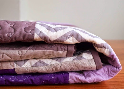 Custom Organic Cotton Patchwork Quilt