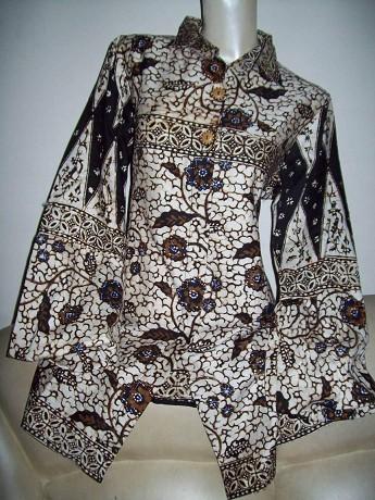 baju+batik+wanita Baju Batik Muslim