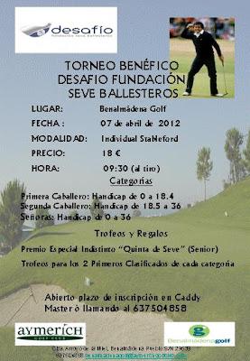 Benalmadena Golf con fundacion Seve Ballesteros