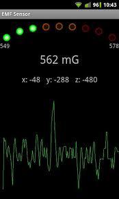 Bagaimana anda boleh mengesan hantu dari android telefon bimbit anda dengan mengunakan EMF ditector
