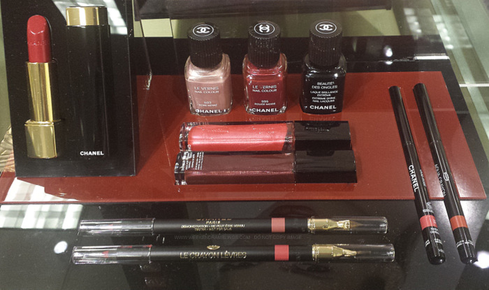 Chanel Rouge Allure Moire Makeup Collection - Photos, Swatches