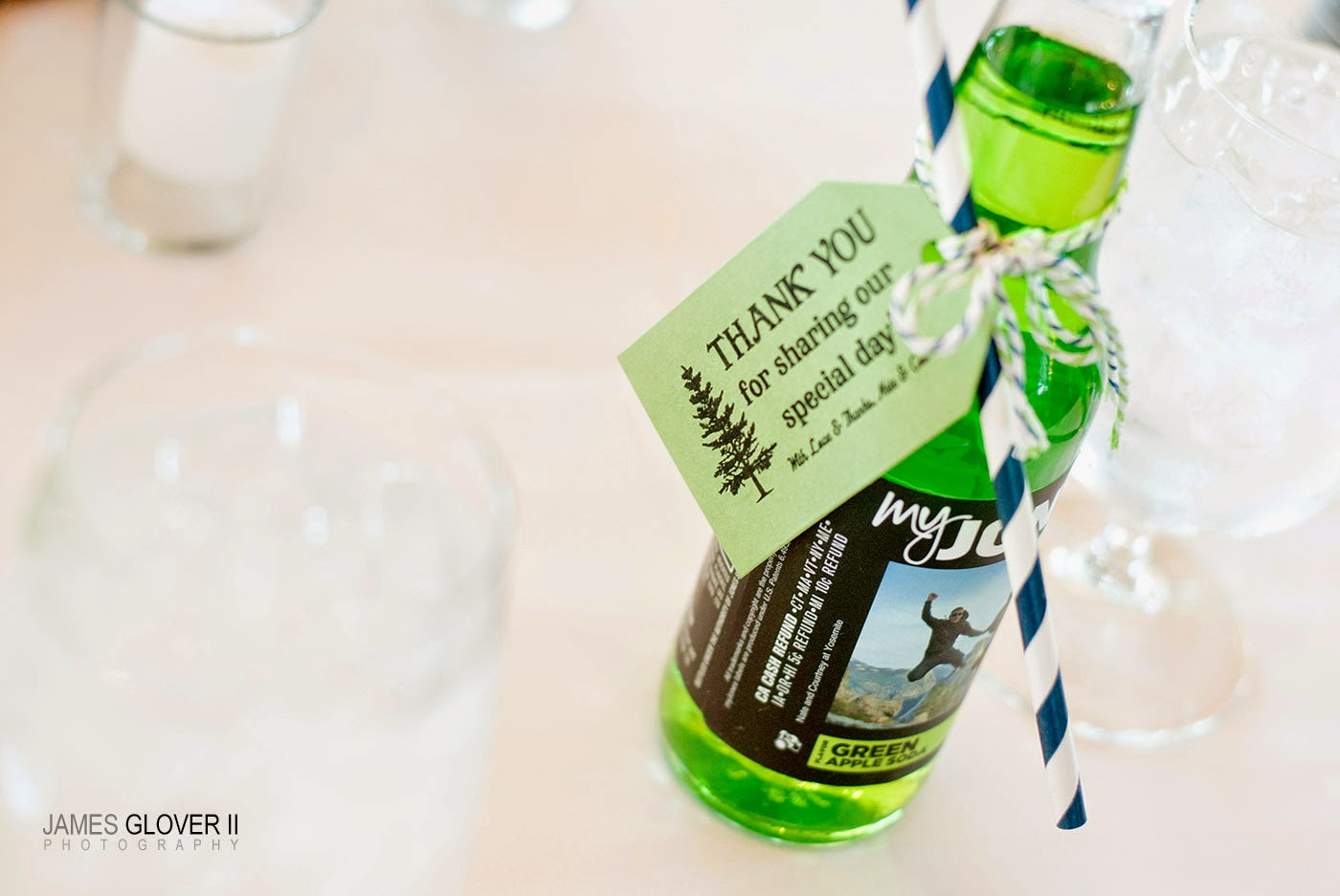 Jones Soda Wedding Favors | James Glover Photography | Take the Cake Events