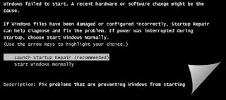 cara mengatasi windows tidak mau booting