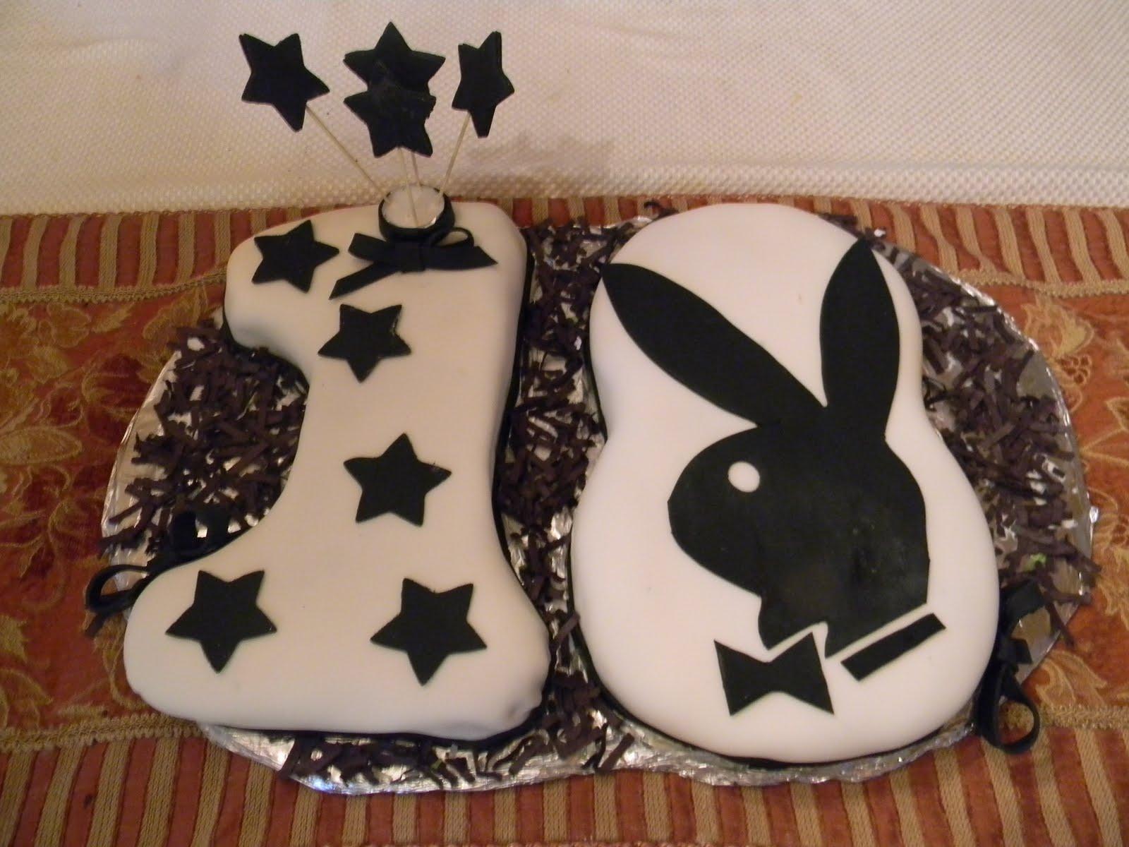 Cheryls Cakery Playboy Bunny Birthday Cake