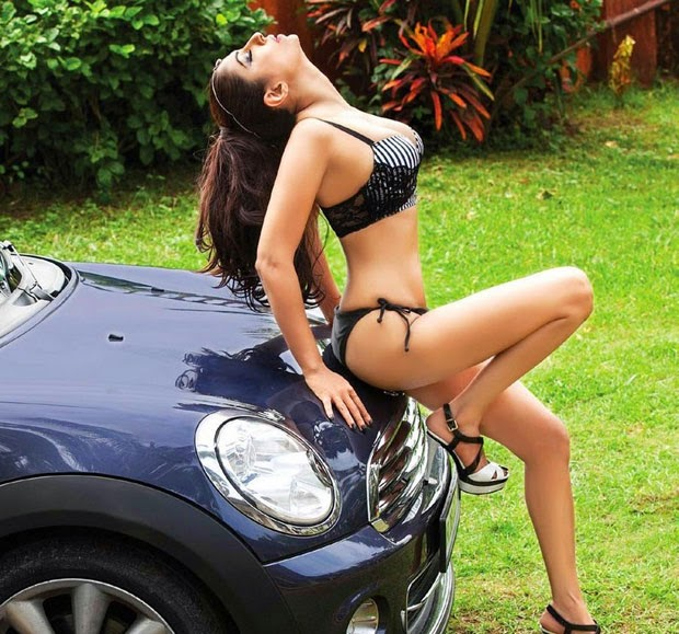 Pooja Misrra FHM magazine photo shoot