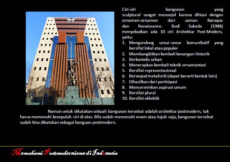 Memahami Postmodern Di Indonesia