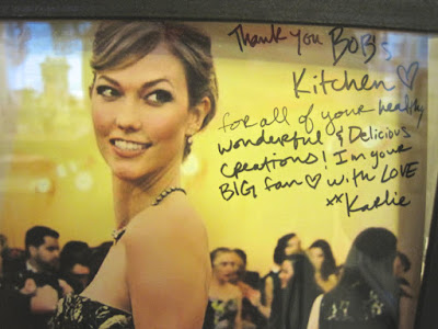 Karlie Kloss Fan of Paris Restaurant Bob's Kitchen