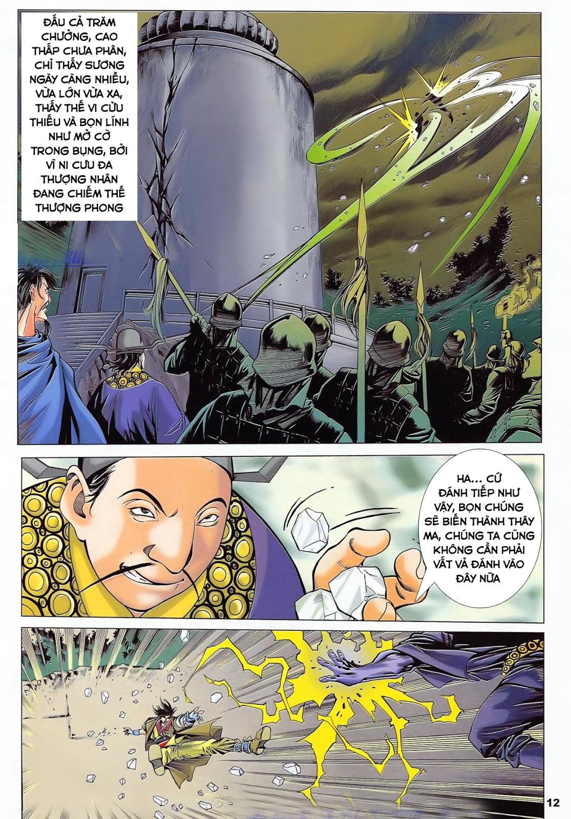 Lục Đạo Thiên Thư chap 36 - Trang 12