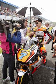 Frentubo with NGM Forward Racing Team in MOTO GP